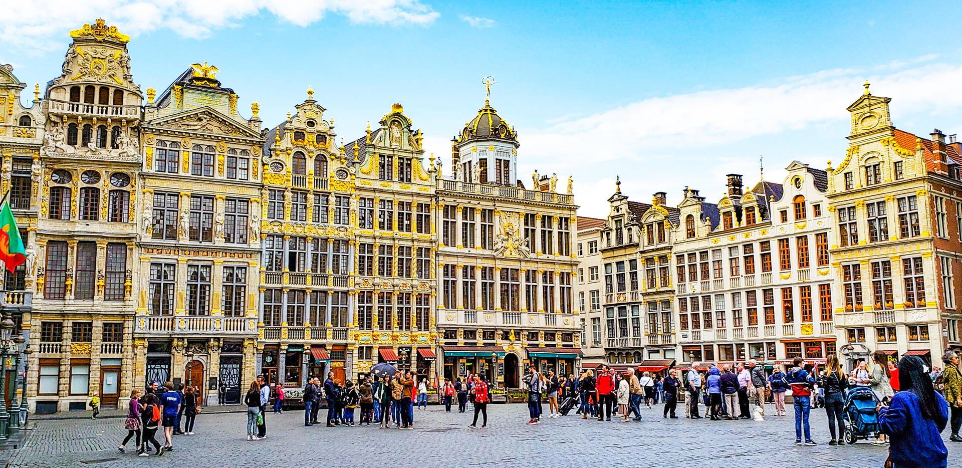 Brussels Grand Place Historic Buildings