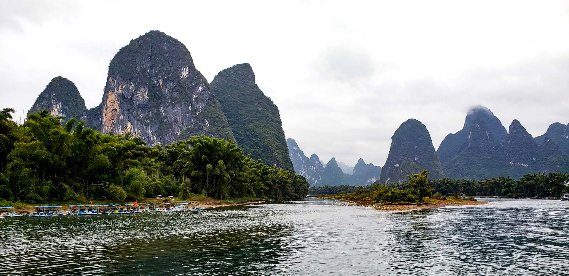 Li River Karst Mountains Boat Tour