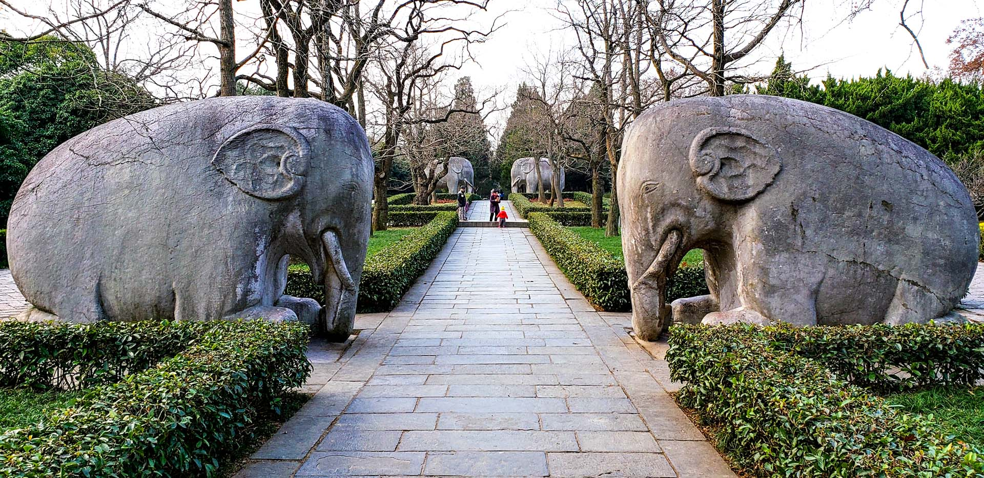 Ming Tomb Sacred Path Elephants