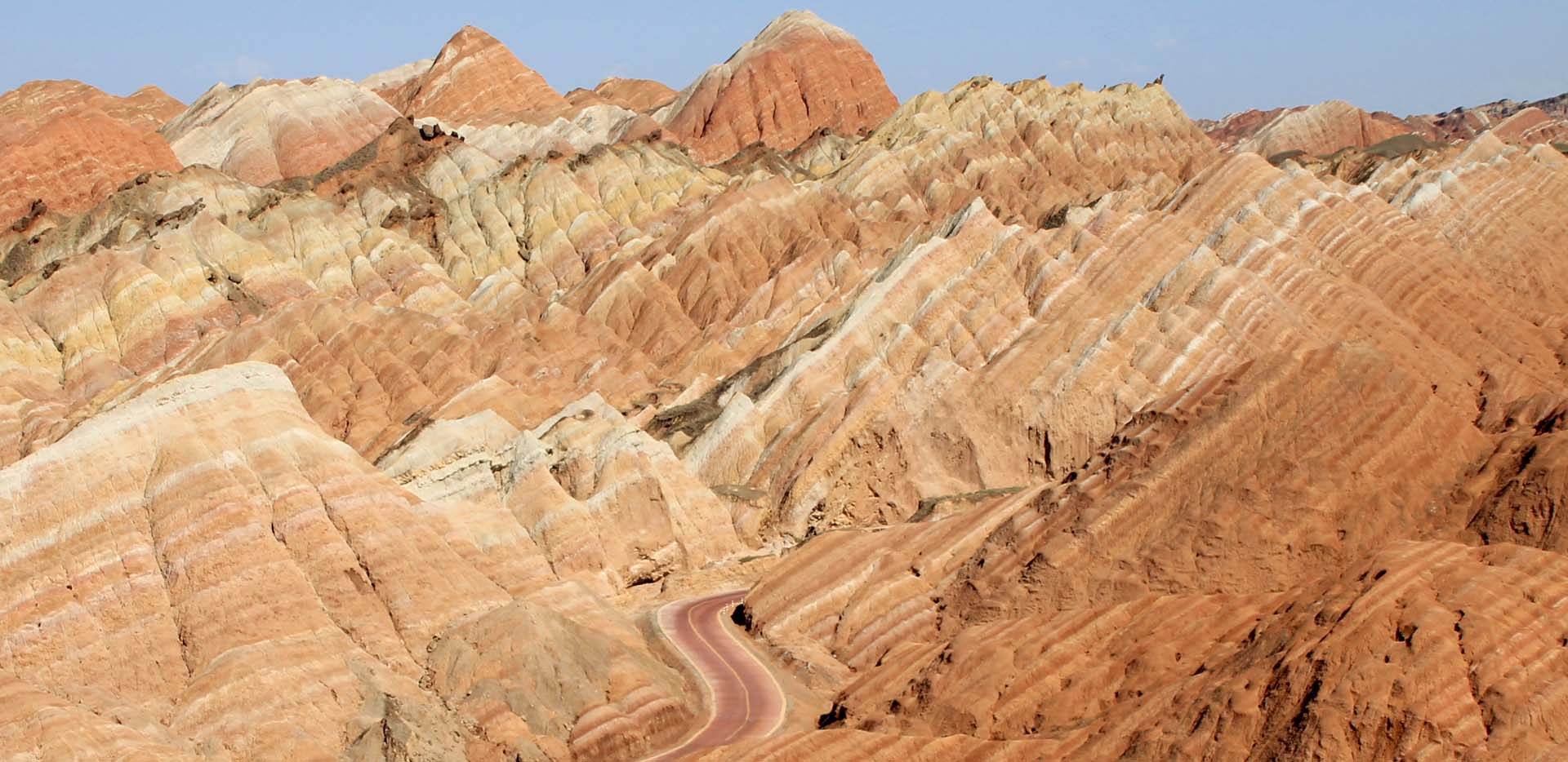 Danxia Geological Park Colorful Hills Stop Two