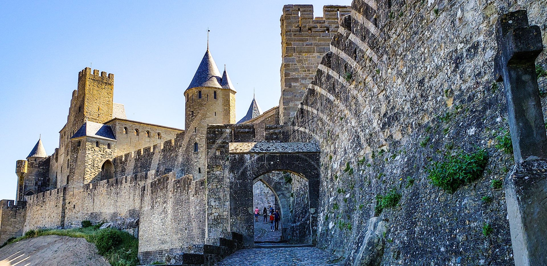 Walled and Fortified Citadel from Medieval Times