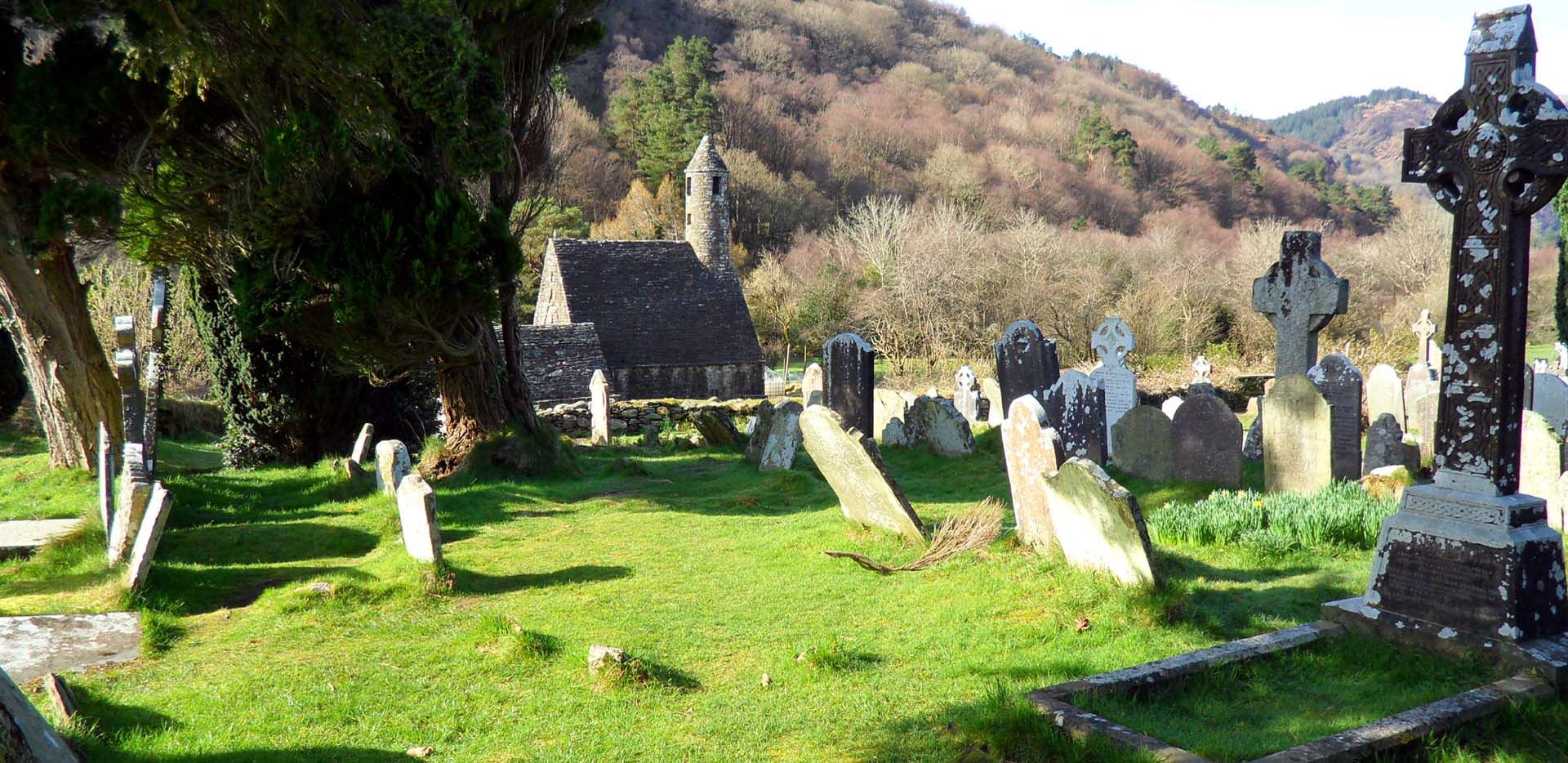 Glendalough Church Cemetery