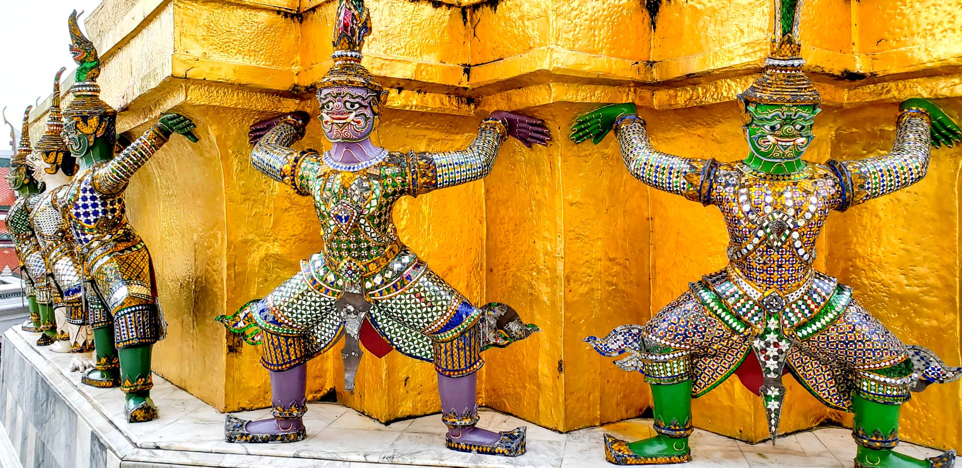 Grand Palace Demon Figures