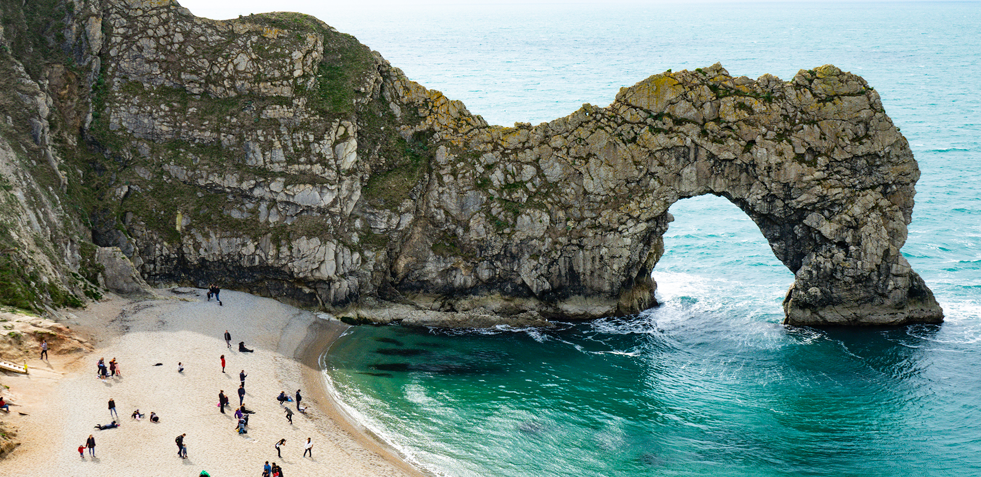 The Durdle Door and Beach