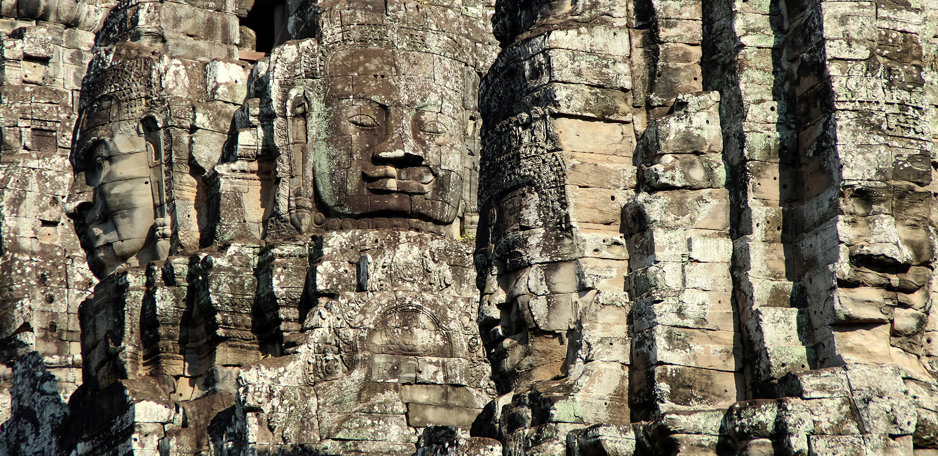 Angkor Wat Rock Faces