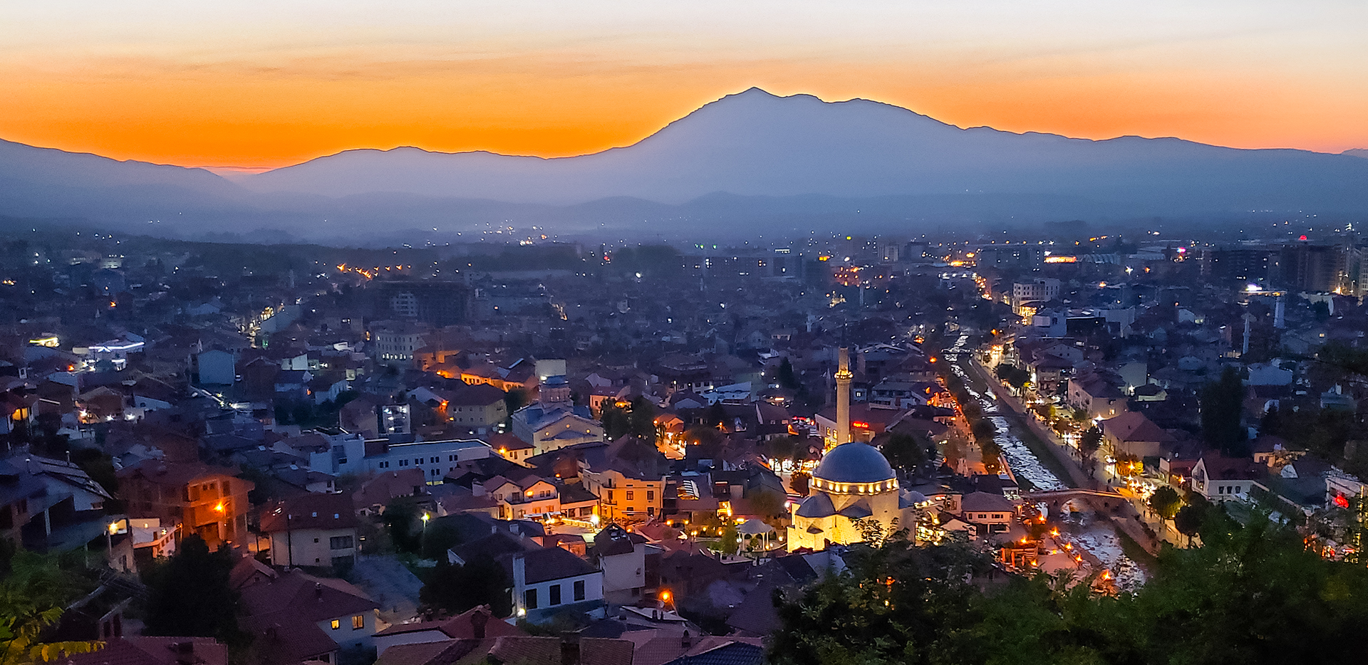 Sunset From Prizren Fortress