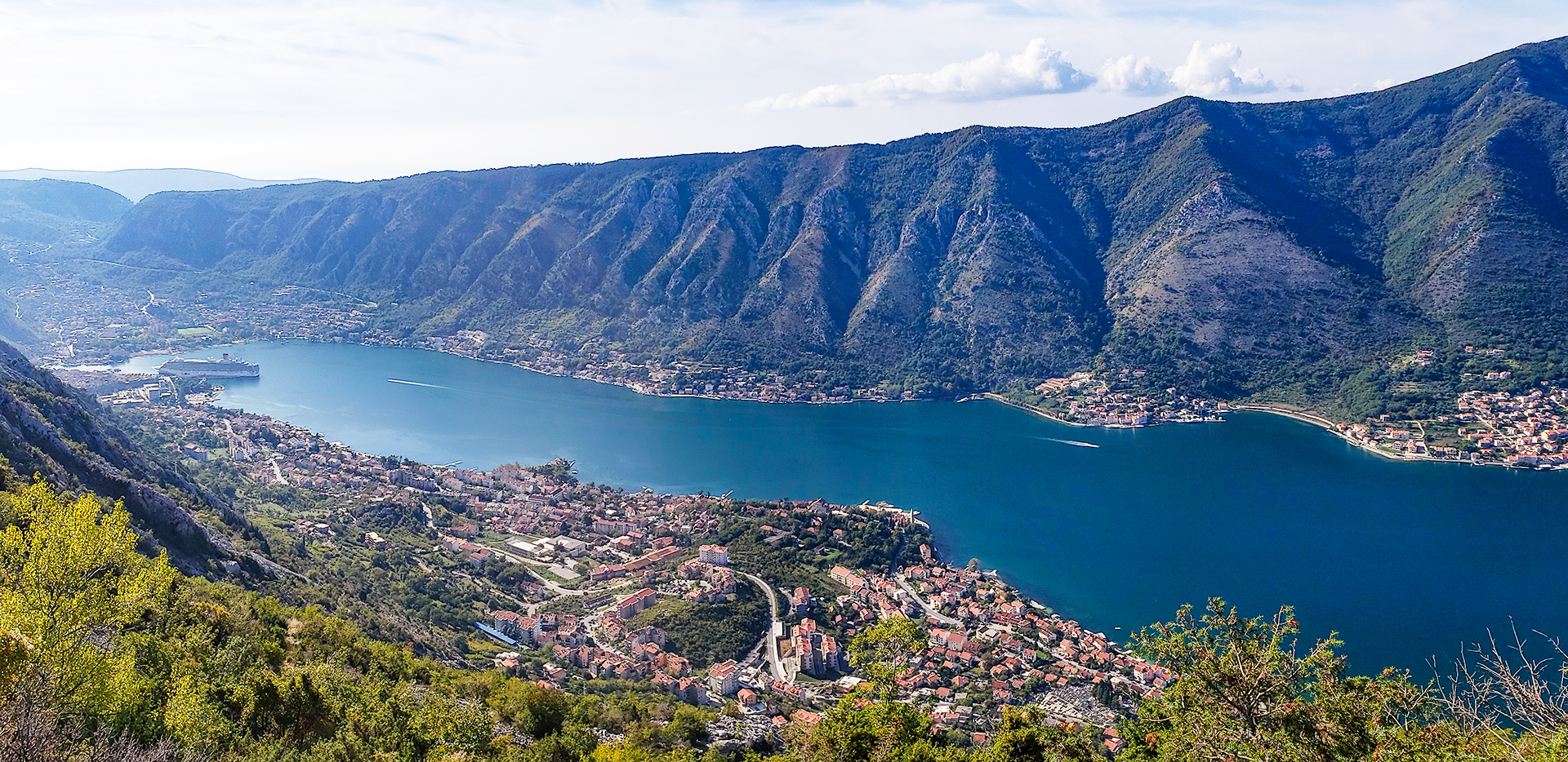 Bay Of Kotor And Surrounding Towns