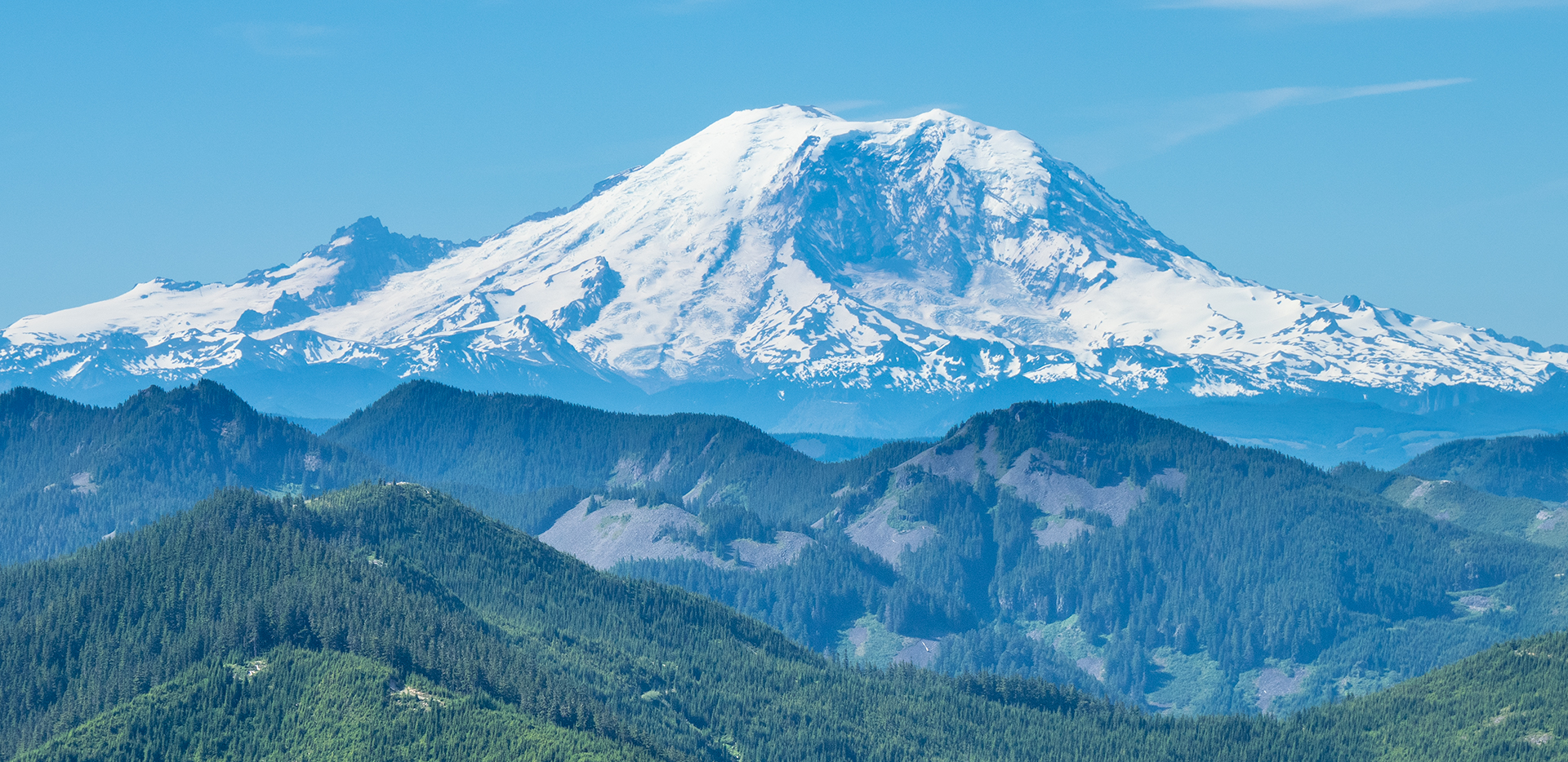 Mount Rainier View From Bandera Mountain